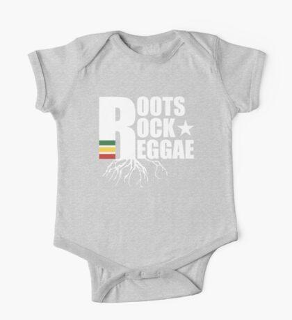 Roots Rock Reggae WHT One Piece - Short Sleeve