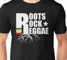 Roots Rock Reggae WHT Unisex T-Shirt