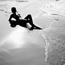 Just Me and the Sea by dcdigital