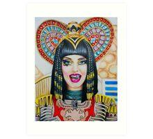Katy Perry in Dark Horse Art Print