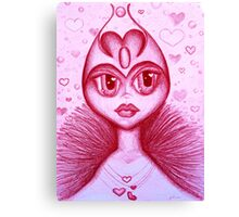 The Real Queen of Hearts Canvas Print