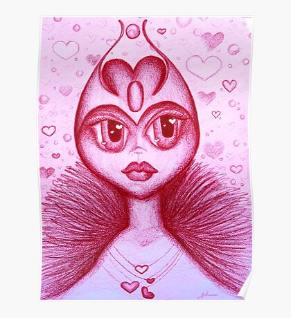 The Real Queen of Hearts Poster