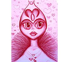 The Real Queen of Hearts Photographic Print