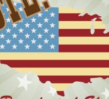 Vote 2016 Presidential Election Retro Sticker