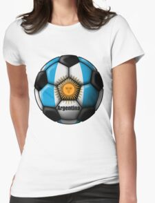 Argentina Ball Womens Fitted T-Shirt