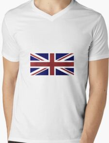 Union Jack Mens V-Neck T-Shirt