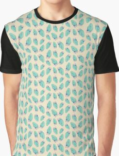 Blue Strawberries Graphic T-Shirt