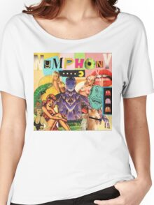 NYMPHONY COLLAGE Women's Relaxed Fit T-Shirt