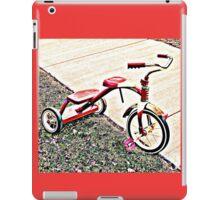 Three Wheels, Ready to Roll iPad Case/Skin