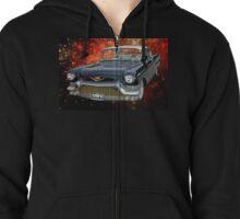 57 Cadillac UFO Zipped Hoodie