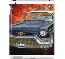 57 Cadillac UFO iPad Case/Skin