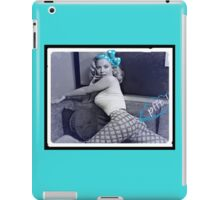 Fart Chick iPad Case/Skin