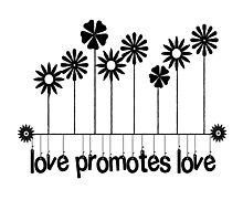 Love Promotes Love  Photographic Print