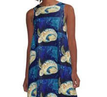 aurthurs turtle two A-Line Dress