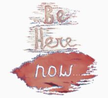 Be Here NOW Kids Clothes
