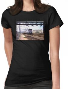 Amtrak E-60 Electric Locomotive #600 Womens Fitted T-Shirt