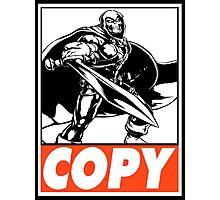 Taskmaster Copy Obey Design Photographic Print