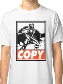 Taskmaster Copy Obey Design Classic T-Shirt