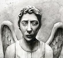 Weeping Angel - Don't Blink! by OlechkaDesign