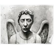 Weeping Angel - Don't Blink! Poster