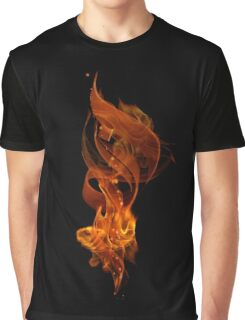 """""""The Fire"""" (""""Al Nar"""" in Arabic) Graphic T-Shirt"""