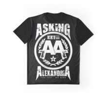 Asking Alexandria England Rock N' Roll From Death To Destiny Graphic T-Shirt