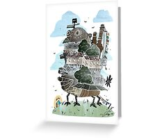 The Moving Castle Greeting Card