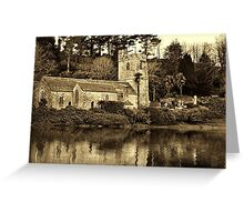 St. Just in Roseland Greeting Card