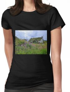 Abandoned Homestead...........................Ireland Womens Fitted T-Shirt