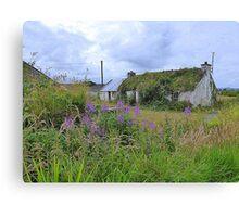 Abandoned Homestead...........................Ireland Canvas Print