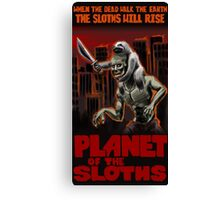 Planet Of The Sloths Canvas Print