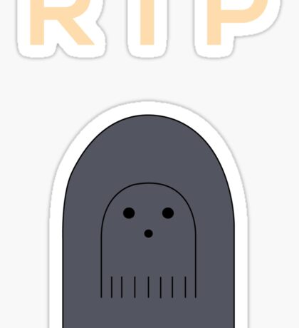 Ghostly Remembrance  Sticker
