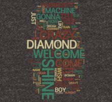 Wish You Were Here 'word cloud' by ssan
