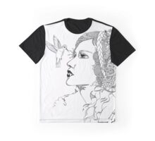 Hummingbird Girl Graphic T-Shirt