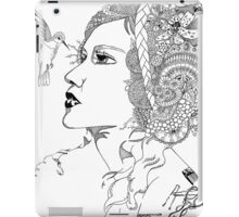 Hummingbird Girl iPad Case/Skin