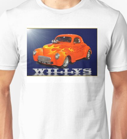 Willys Coupe Unisex T-Shirt