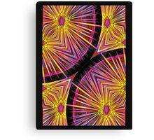 Star Burst Alpha Canvas Print