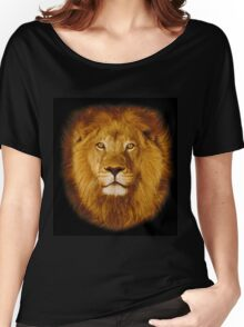 Lion at sunset Women's Relaxed Fit T-Shirt