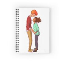 Ron & Hermione - Height Difference Spiral Notebook