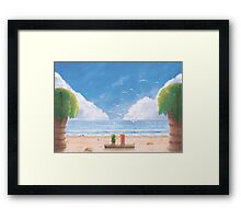 If i Was  a Seagull (35 Left!) Framed Print