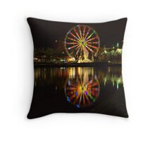 Melbourne at night *2* Throw Pillow