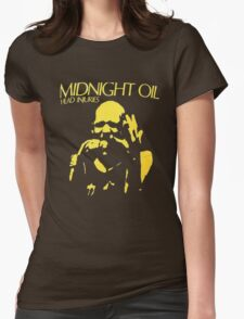 Midnight Oil Womens Fitted T-Shirt