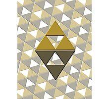 phone case: triforce pattern Photographic Print