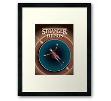 Stranger Things 18x24 Art Print –Eleven in the Pool Framed Print