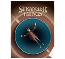 Stranger Things 18x24 Art Print –Eleven in the Pool Poster