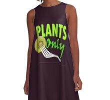 Plants Only - Vegan Lifestyle A-Line Dress