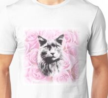 Rosey Cat Unisex T-Shirt