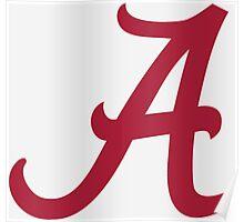 Alabama Crimson Poster