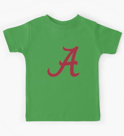 Alabama Crimson Kids Tee