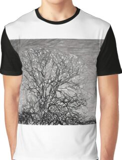 Stormy Tree Graphic T-Shirt